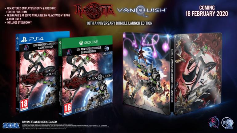 Переиздания Vanquish и Bayonetta выйдут бандлом на PS4 и Xbox One 18 февраля