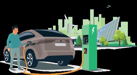 ИИ-зарядка, разработанная GBatteries — канадским стартапом с украинскими корнями, зарядит электромобиль за 5-10 минут