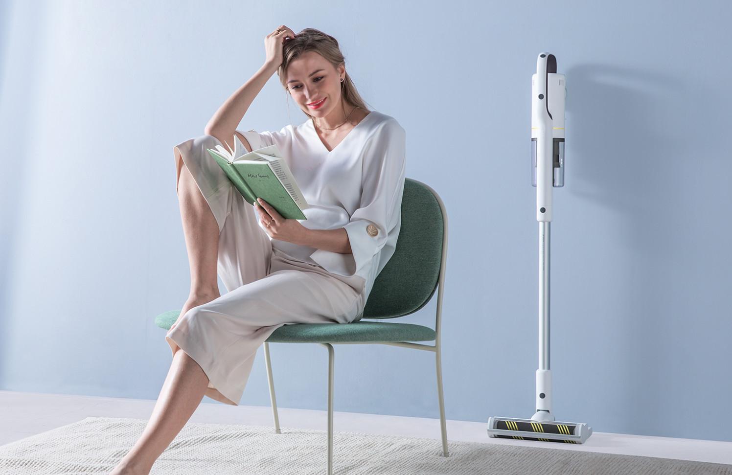 ROIDMI X20: вертикальный аккумуляторный пылесос с «моющей» функцией