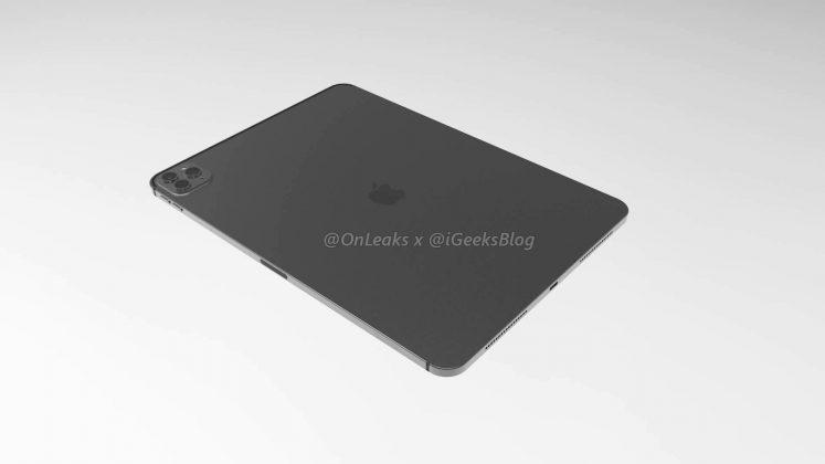 Рендеры нового Apple iPad Pro демонстрируют тройную камеру, как у iPhone 11 Pro