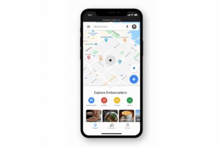 В Google Maps для iOS тоже появился режим «Инкогнито» без какого-либо отслеживания действий