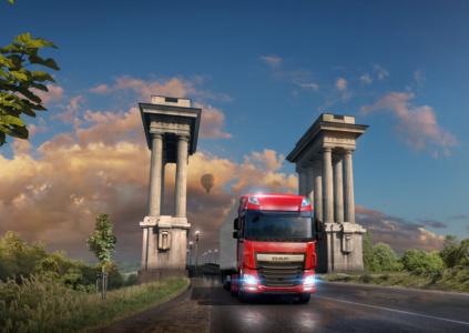 Euro Truck Simulator 2 – Road to the Black Sea: берег турецкий