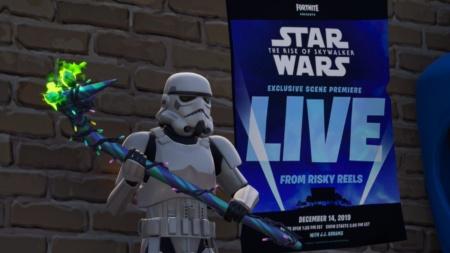 За неделю до премьеры в кинотеатре онлайн-шутера Fortnite покажут эксклюзивную сцену из фильма Star Wars: The Rise of Skywalker