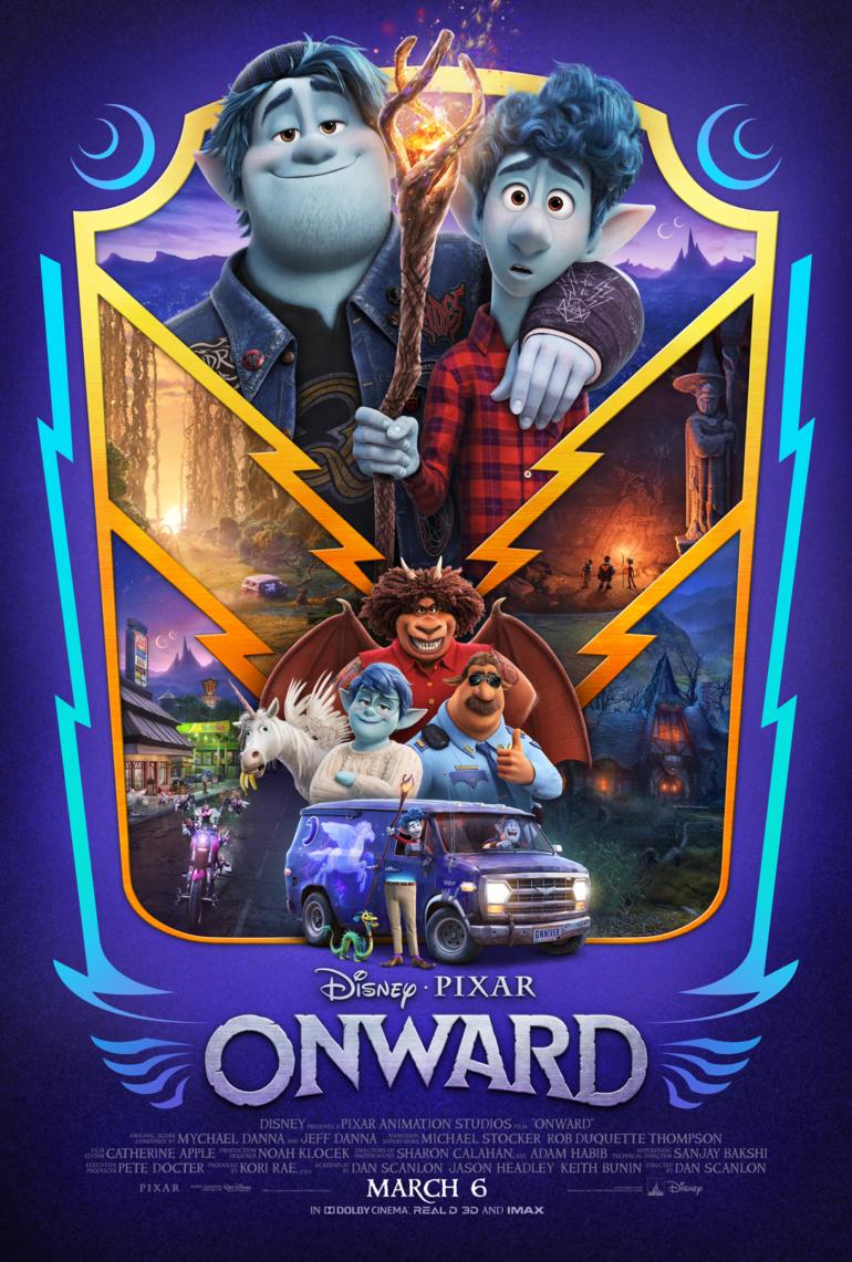 Новый трейлер мультфильма Onward / «Вперед» от Disney/Pixar с мантикорой-поваром, кентавром-полицейским и мусорными единорогами