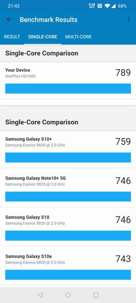 Обзор смартфона OnePlus 7T