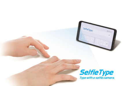 Samsung покажет на CES 2020 проект SelfieType, позволяющий вводить текст при помощи фронтальной камеры смартфона