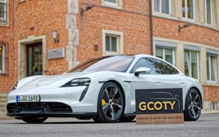Электромобиль Porsche Taycan стал «Автомобилем 2020 года» в Германии, получив премию German Car of The Year (GCOTY 2020)
