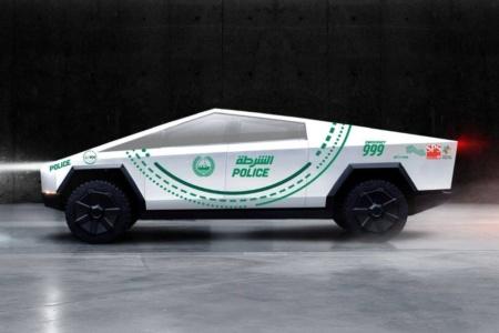 Полиция Дубая закупит партию электропикапов Tesla Cybertruck для патрулирования