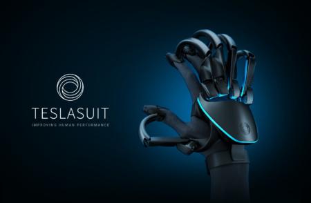 VR-перчатка Teslasuit Glove позволяет чувствовать виртуальные объекты и способна отслеживать пульс