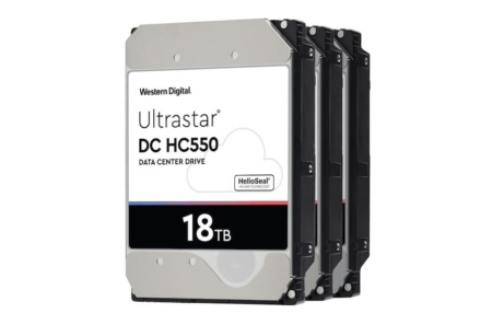 Western Digital планирует использовать EAMR-технологии для создания жёстких дисков на 24 ТБ и более