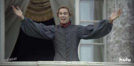 Стриминговый сервис Hulu опубликовал дебютный трейлер грядущего мини-сериала The Great, посвященного юности российской императрицы Екатерины II