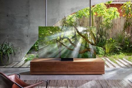 Samsung представила безрамочный 8K-телевизор и объявила о поддержке технологии телевещания следующего поколения на базе ATSC 3.0