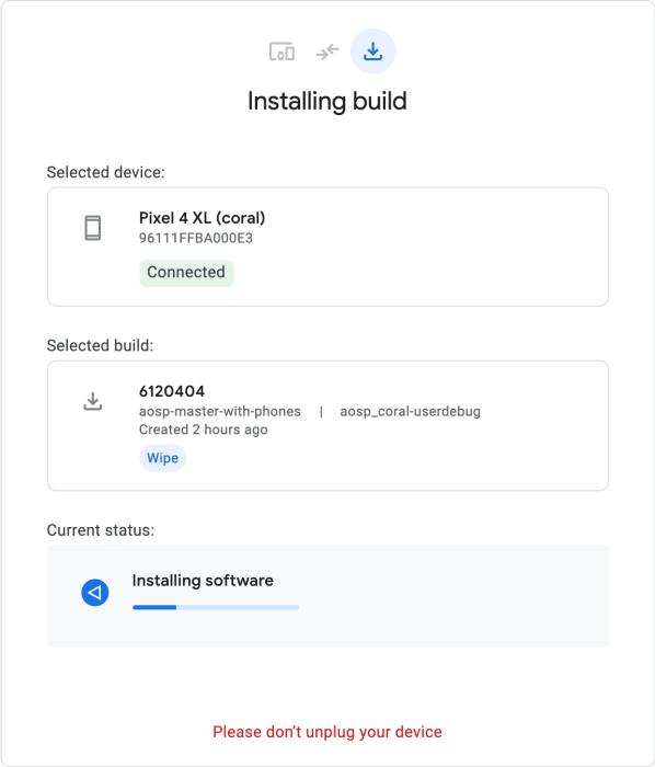 Android Flash Tool – инструмент для простой установки новых сборок Android на смартфоны