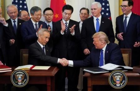 США и Китай заключили новую торговую сделку, но говорить, что конфликт исчерпан, пока рано