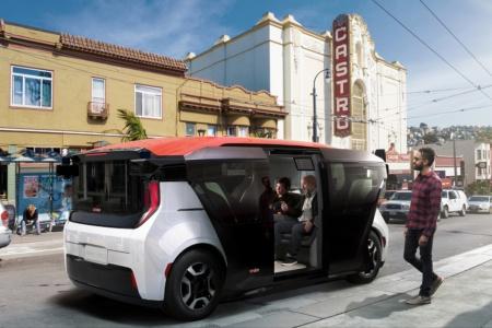 General Motors представил автономный электрический шаттл Cruise Origin без руля, педалей и водительского места