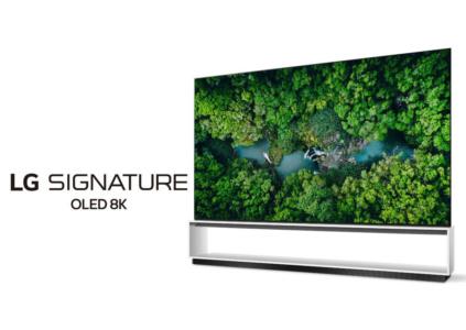 LG привезла на CES 2020 собственные «настоящие» 8K телевизоры