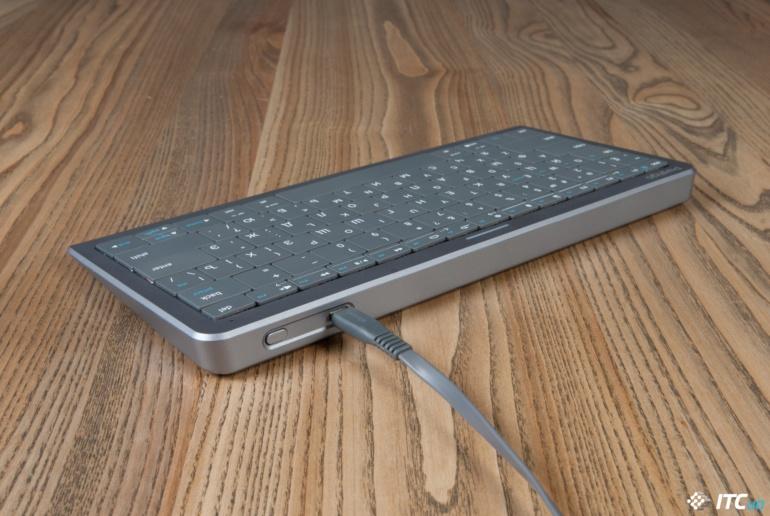Обзор клавиатуры-тачпада Prestigio Click&Touch