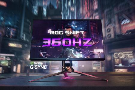 NVIDIA и ASUS анонсировали первый в мире игровой монитор с частотой обновления панели 360 Гц