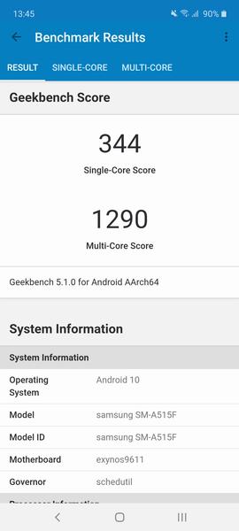 Обзор смартфона Samsung Galaxy A51