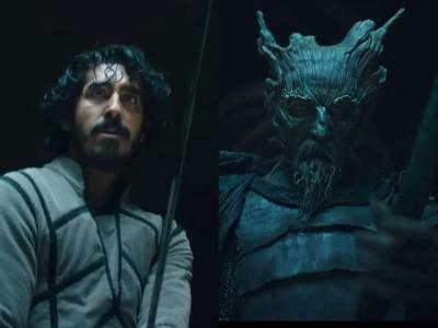 У Дева Пателя горит голова в дебютном трейлере мрачного фэнтезийного фильма The Green Knight