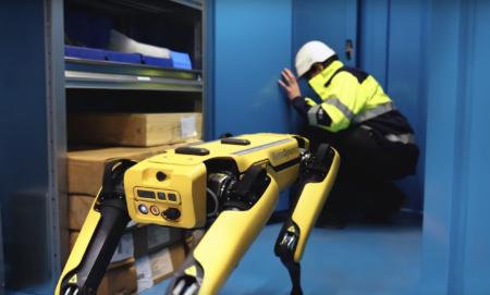 Норвежская нефтедобывающая компания Aker BP намерена задействовать робопса Spot для инспектирования своих нефтяных вышек