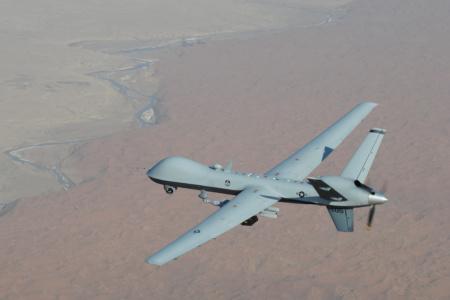 Американцы испытали лазерную систему спутниковой связи для беспилотника MQ-9Reaper