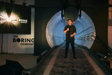 The Boring Company ввела в строй Prufrock — проходческий щит третьего поколения, разработанный силами самой компании