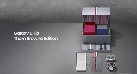 У Samsung Galaxy Z Flip будет лимитированное «дизайнерское» издание Thom Browne Edition — за $2500