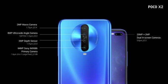 Представлен Poco X2 — первый смартфон самостоятельного бренда Xiaomi Poco