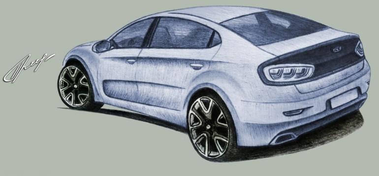 Украинские энтузиасты работают над созданием массового отечественного электромобиля «Порто-Франко 42» по цене от $9000
