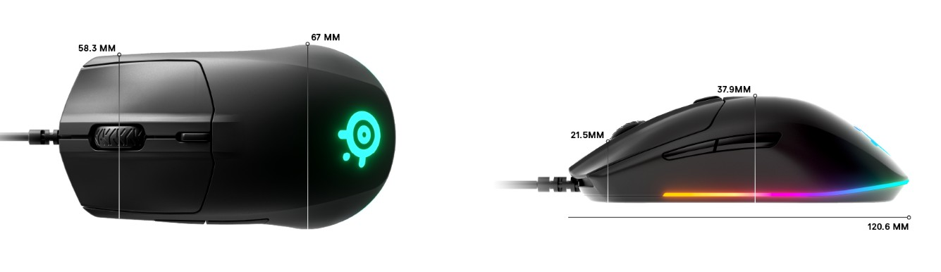 Обзор игровой мыши SteelSeries Rival 3: ставка на практичность