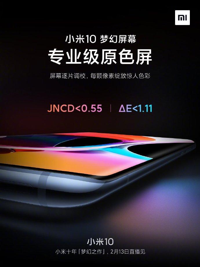 90/180 Гц, 1120 кд/м<sup>2</sup>, JNCD<0,55 и ΔE<1,11. Ключевые особенности «экрана мечты» флагмана Xiaomi Mi 10
