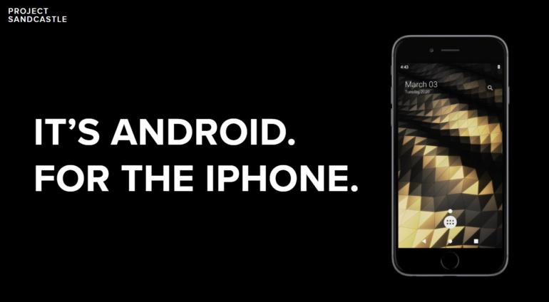 Project Sandcastle позволяет запускать Android на iPhone