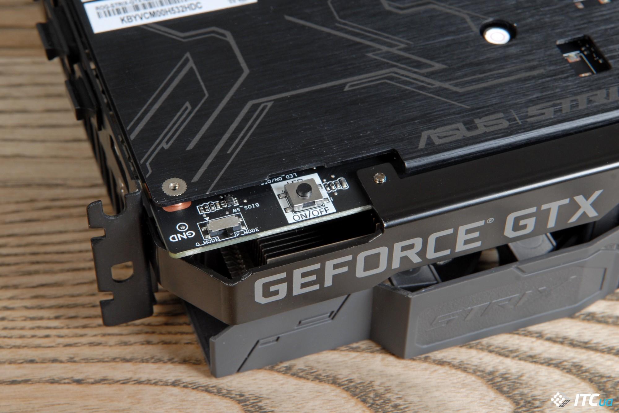 Обзор видеокарты ASUS ROG STRIX GeForce GTX 1660 SUPER OC GAMING
