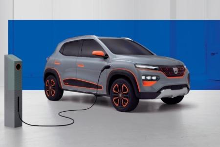 Анонсирован концепт бюджетного электрокроссовера Dacia Spring на основе Renault City K-ZE с запасом хода 200 км, серийную версию модели начнут продавать в Европе уже в 2021 году
