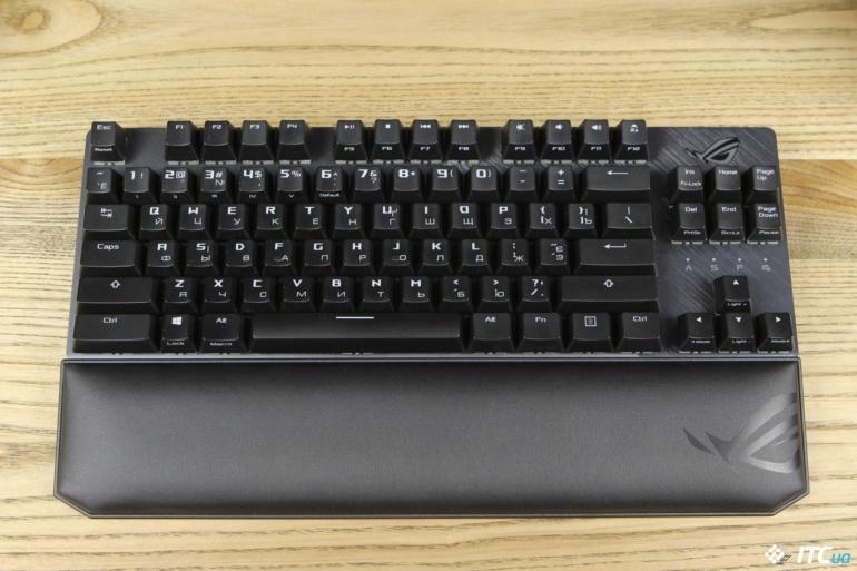 Обзор игровой механической клавиатуры ASUS ROG Strix Scope TKL Deluxe