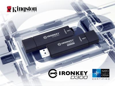 Переходим на стандарты НАТО: USB-накопители Kingston IronKey D300 получили сертификат NATO Restricted Level