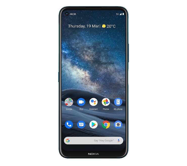 Nokia 8.3 5G – первый 5G-смартфон бренда на базе SoC Snapdragon 765G