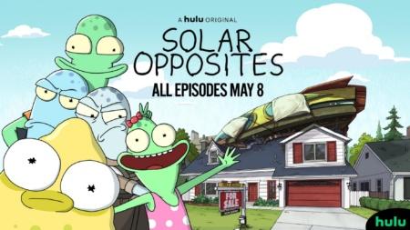 На Hulu выйдет новый мультсериал Solar Opposites / «Солнечные противоположности» от авторов «Рика и Морти» [трейлер]