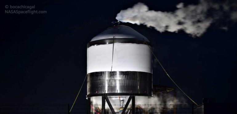 У SpaceX уже почти готов новый полноразмерный прототип межпланетного корабля Starship SN3 для летных испытаний
