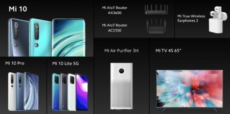 Еще новинки Xiaomi для Украины — роутер AX3600 с поддержкой Wi-Fi 6, 65-дюймовый телевизор Mi TV 4S, очиститель воздуха Mi Air Purifier 3H и наушники Mi True Wireless Earphones 2
