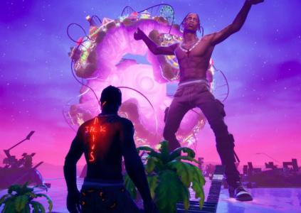 Виртуальный концерт рэпера Трэвиса Скотта в Fortnite привлек 15,2 млн. зрителей