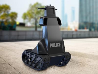 Запорожская компания «Инфоком ЛТД» разработала робота-полицейского для патрулирования улиц