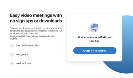 Забудьте о Zoom. Microsoft рекламирует Skype Meet Now — бесплатные видеоконференции без регистрации и установок