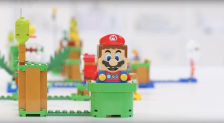 Релиз конструкторов LEGO, посвященных игре Super Mario, состоится в конце лета