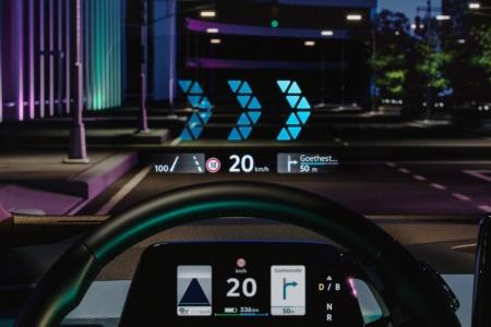Volkswagen показал, как будет выглядеть продвинутый дисплей дополненной реальности AR-HUD в электромобиле VW ID.3 [видео]