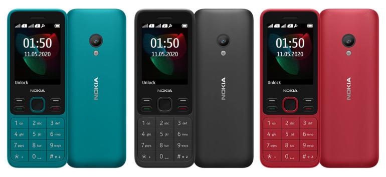 """HMD Global представила пару фичерфонов Nokia 125 и Nokia 150 с FM-радио, """"Змейкой"""" и трехнедельной автономностью по цене $24 и $29 соответственно"""