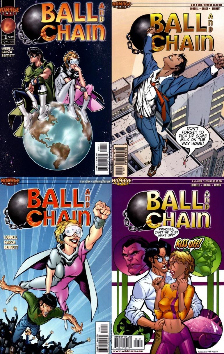 "Variety: Дуэйн Джонсон и Эмили Блант сыграют роли супругов-супергероев в экранизации комикса ""Ball and Chain"""