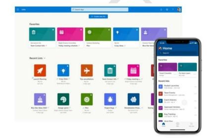 Microsoft Lists — новый инструмент для повышения продуктивности работы в Teams, SharePoint и Outlook
