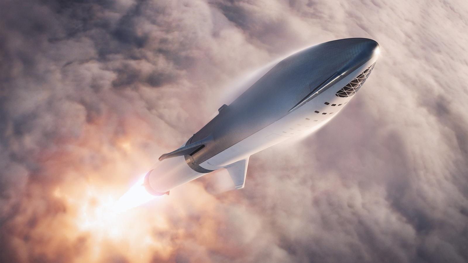 Видео дня: Прототип SpaceX Starship SN4 прошел статические огневые испытания